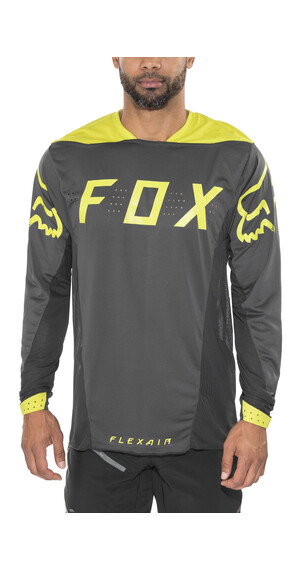 Fox Flexair Moth Koszulka kolarska żółty/czarny